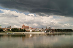 Torun, Pologne. Images stock