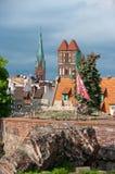Torun, ruins of castle Stock Photography