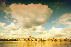 Torun skyline Stock Image