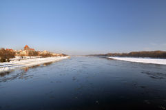Torun in winter. View of Torun in winter time Royalty Free Stock Images