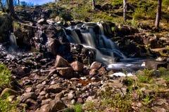 Torup waterfalls Stock Images