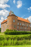 Torups Castle. Torups slott is a castle in Svedala Municipality, Scania, in southern Sweden. It is situated approximately 15 kilometres (9.3 mi) east of Malmo Royalty Free Stock Images