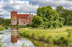 Torups Castle. Torups slott is a castle in Svedala Municipality, Scania, in southern Sweden. It is situated approximately 15 kilometres (9.3 mi) east of Malmo Stock Photography