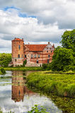 Torups Slott. Is a castle in Svedala Municipality, Scania, in southern Sweden. It is situated approximately 15 kilometres (9.3 mi) east of Malmo Royalty Free Stock Photography