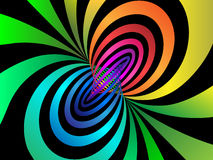 Torus. Colorful torus abstract background 1 Stock Images