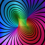 Torus. Colorful torus abstract background 2 Stock Photography