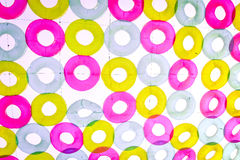 Torus Abstract Background. Circle Torus colorful Abstract Background Royalty Free Stock Photography