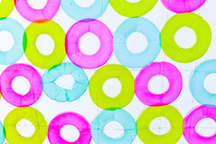 Torus Abstract Background. Circle Torus colorful Abstract Background Stock Photography