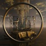 Torus - awakening Royalty Free Stock Images
