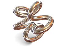 Torus knot Royalty Free Stock Images