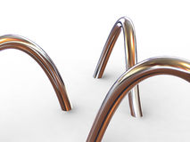 Torus knot Stock Photo