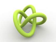 Torus knot Royalty Free Stock Image