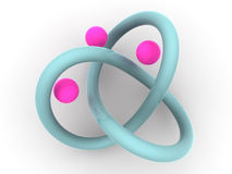 Torus knot Royalty Free Stock Photos