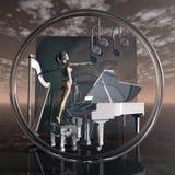 Torus - Musik lizenzfreie abbildung