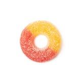 Torus shaped gelatin candy isolated Stock Photo
