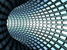 Torus tunnel Royalty Free Stock Photography