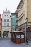 TORUŃSKI, POLSKA, MAJ - 18, 2016: Tradycyjna architektura w sławnym Obrazy Royalty Free