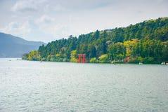Torussen in Hakone, Japan royalty-vrije stock foto's