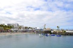 Torviscas eine Küstenstadt in Costa Adeje Tenerife Lizenzfreie Stockfotografie