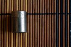 Torx гнездо для гаечного ключа на деревянной предпосылке, размере гнезд ключа 12 Стоковая Фотография