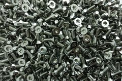 Torx screws stainless steel Royalty Free Stock Images