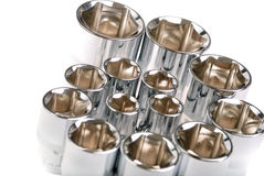 Torx socket set stock photos
