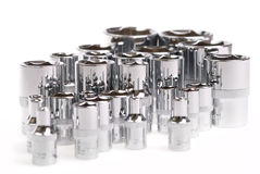 Torx socket set Stock Images