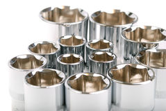 Torx socket set Stock Photography