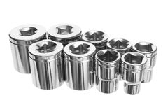 Torx Socket Set Royalty Free Stock Photography