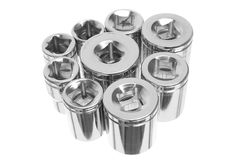 Torx Socket Set Stock Image