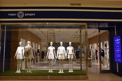 Tory Sport store at Mall of America in Bloomington, Minnesota. USA Royalty Free Stock Photos