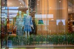Torysowski Burch sklep przy Emquatier, Bangkok, Tajlandia, Czerwiec 29, 2018 Obraz Royalty Free