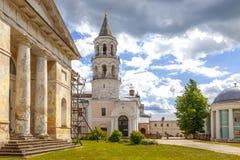 Torzhok Het Klooster van Novotorzhskyborisoglebsky royalty-vrije stock afbeelding
