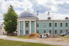 Torzhok Het Klooster van Novotorzhskyborisoglebsky royalty-vrije stock afbeeldingen