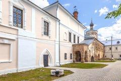 Torzhok Het Klooster van Novotorzhskyborisoglebsky stock foto's