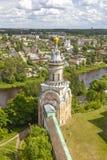 Torzhok Het Klooster van Novotorzhskyborisoglebsky royalty-vrije stock foto