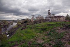Free Torzhok In The Spring. Russian Landscape. Royalty Free Stock Images - 122837159