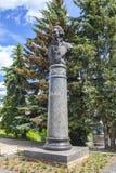 Torzhok Monument aan de Russische architect Nikolay Lvov royalty-vrije stock afbeelding