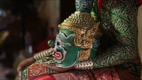 Tosakan Ravana , Thai Ramayana Epic stock video footage