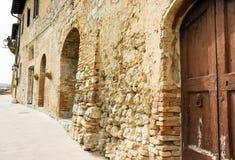 Toscânia de construção obsoleta Italy Imagens de Stock Royalty Free