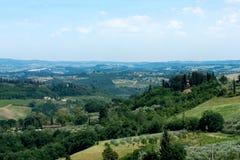 Toscânia Italy Foto de Stock