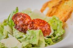 Tosca Caesar Salad Foto de Stock Royalty Free