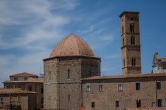 Toscaans gehucht Royalty-vrije Stock Afbeeldingen