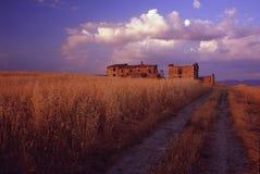 Toscaans landschap Royalty-vrije Stock Foto