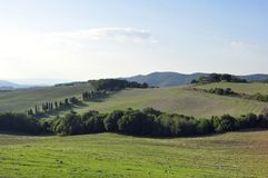 Toscaans platteland Stock Fotografie