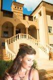 Toscaanse bruid Stock Foto's