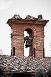 Toscaanse historische architectuur stock afbeeldingen