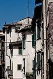 Toscaanse historische architectuur royalty-vrije stock fotografie