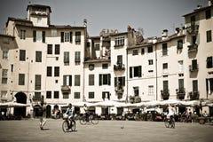 Toscaanse historische architectuur stock fotografie
