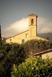 Toscaanse historische architectuur Stock Foto's